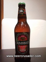 Crabbie's Strawberry & Lime Ginger Beer